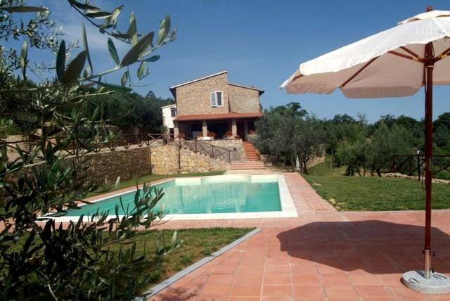 Tuscany Villa with Four Bedrooms all with En Suite Baths - Podere della Fraternita - Image 1 - Badia Agnano - rentals