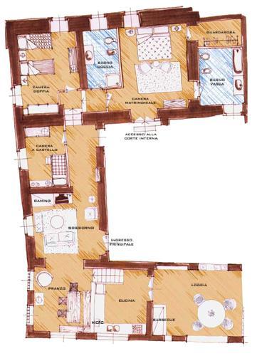 Apartment on a Chianti Wine Estate - Rosso 7 - Image 1 - Montefiridolfi - rentals