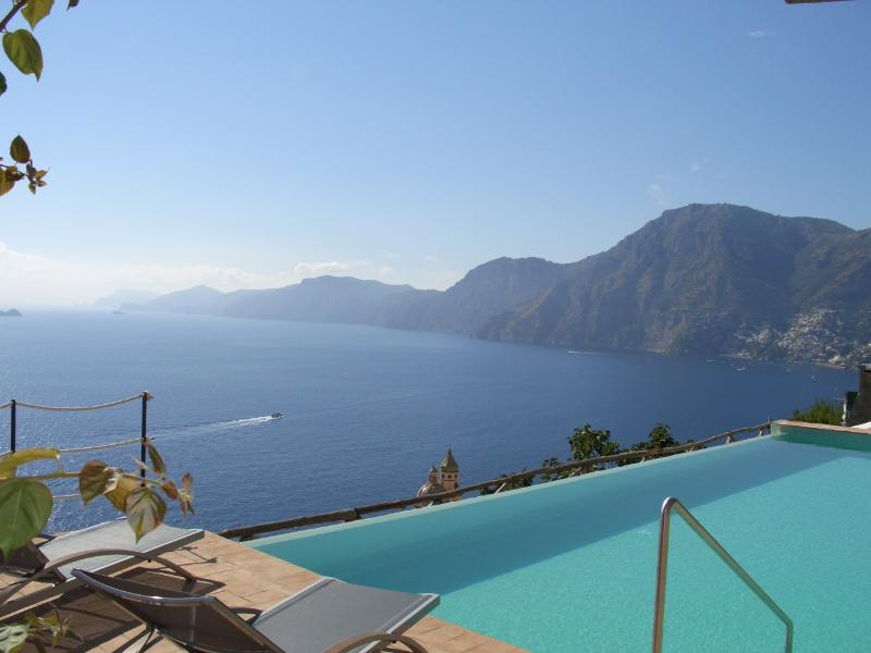 Beautiful Amalfi Coast Villa with Pool - Villa Il Pescatore - Image 1 - Praiano - rentals