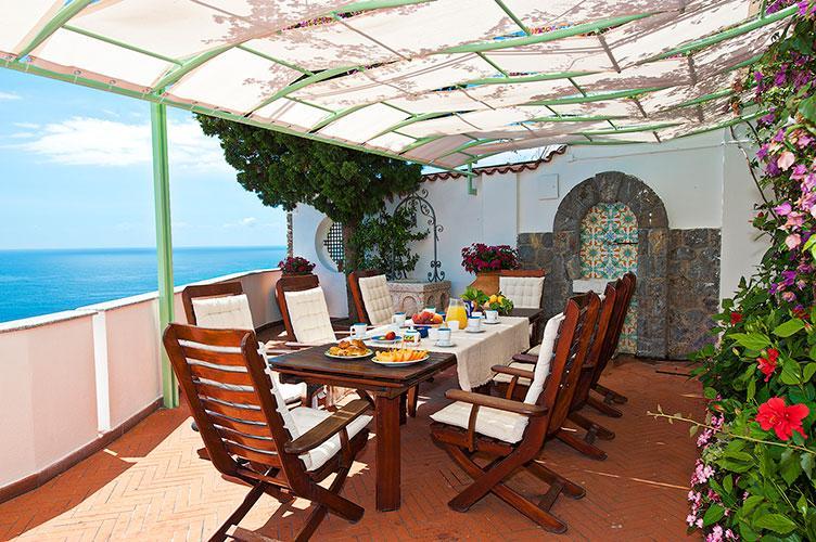 Luxury Villa on the Amalfi Coast with Pool and Sea Views - Villa Magestica - Image 1 - Atrani - rentals