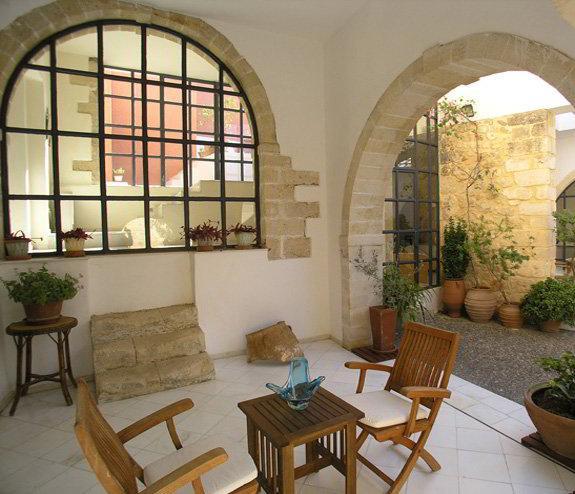 Greek Island Villa on Crete in an Ancient Village - Villa Theseus - Image 1 - Maroulas - rentals