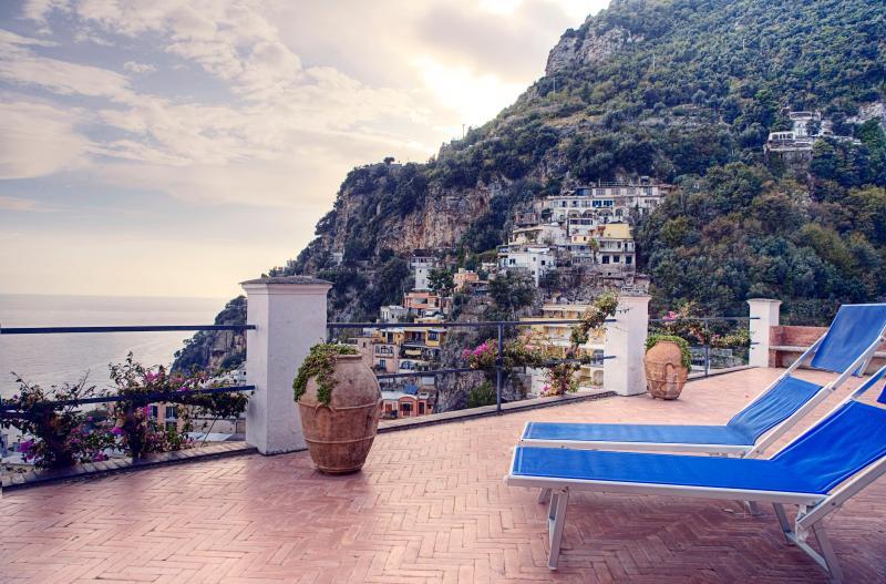 Amalfi Coast Apartment - Villa Piccola Begonia - Image 1 - Positano - rentals