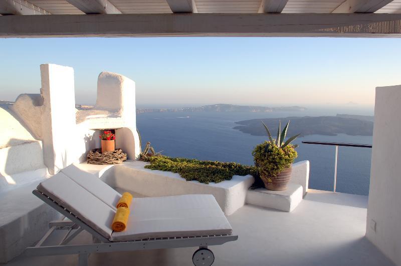 Santorini Villa Rental with Car and Incredible Views - Villa Sky - Image 1 - Imerovigli - rentals