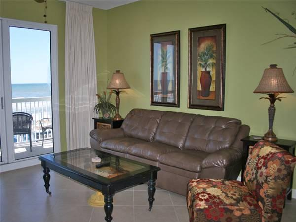Upscale Vacation Home with Beachfront Balcony - Image 1 - Panama City Beach - rentals