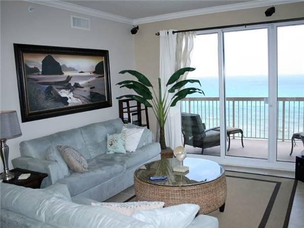 Intimate 3 Bedroom Condo with Beautiful View and Jacuzzi at Sunrise - Image 1 - Panama City Beach - rentals