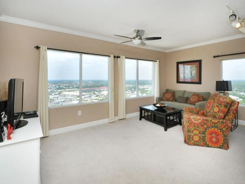 Beautiful Designer Unit with Coastline Balcony - Image 1 - Panama City Beach - rentals