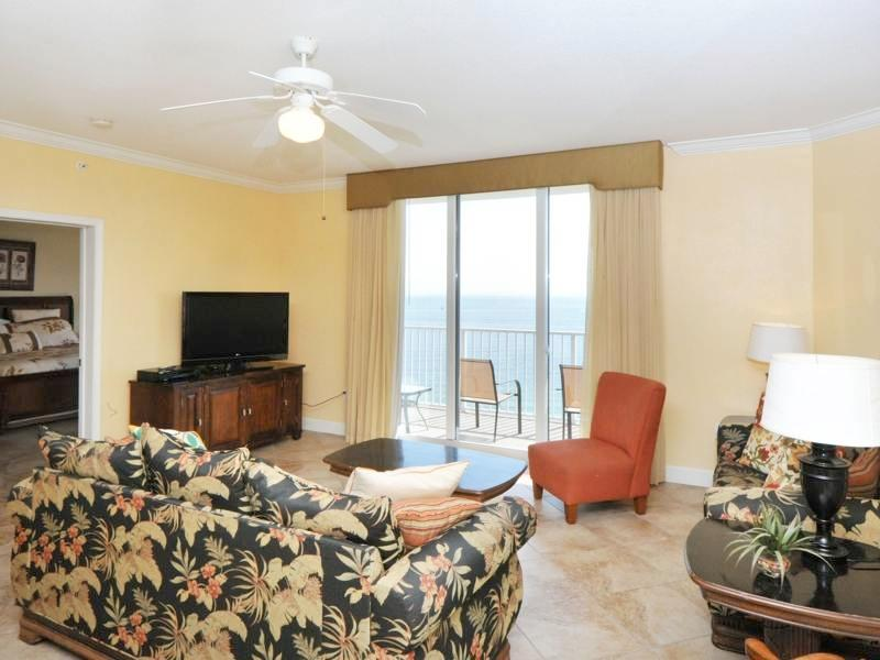Large 3 Bedroom Condo with Gulf Front Balcony - Image 1 - Panama City Beach - rentals