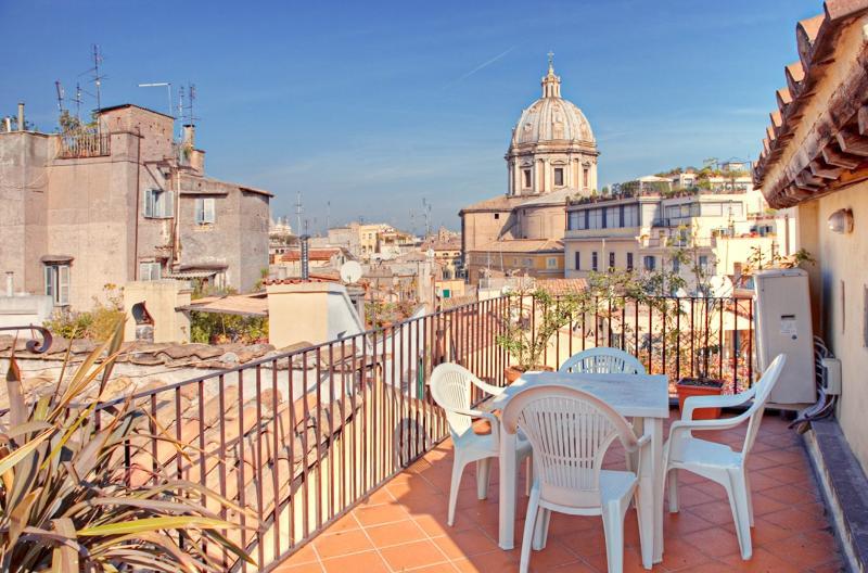 Beautiful Rome Apartment with Outdoor Patios and Views - Campo dei Fiori - Amerigo - Image 1 - Castel Gandolfo - rentals