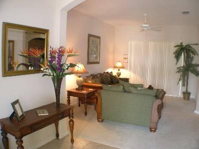 Charming 4BR w/ Large Swimming Pool & large screen TV- 151PD - Image 1 - Davenport - rentals