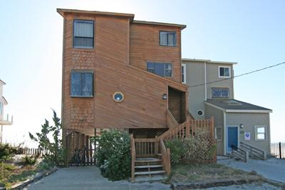 Street side of Home - New River Inlet Rd. 2370 - North Topsail Beach - rentals