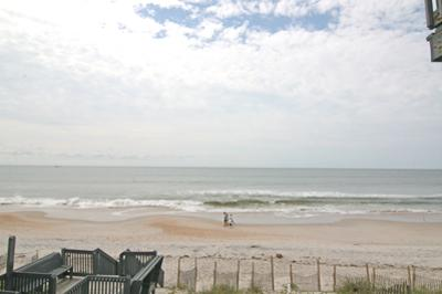 View from living room balcony - Shipwatch Townhomes II 220 - North Topsail Beach - rentals