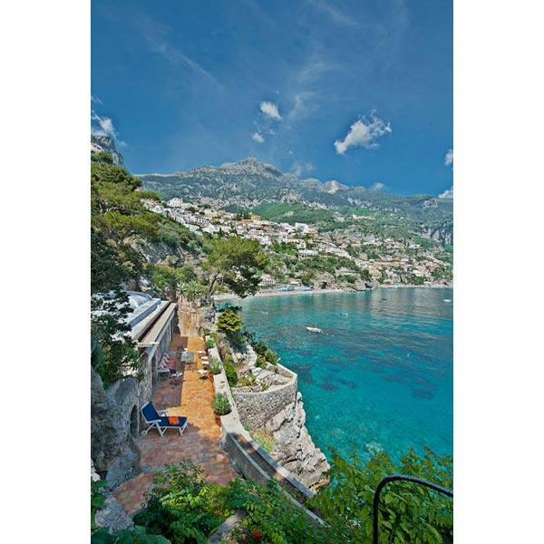Unique ocean side residence near Positano harbor, spear over multiple levels. BRV POS - Image 1 - Amalfi Coast - rentals