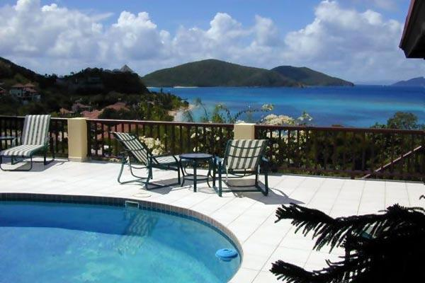 2 minute walk to Mahoe Beach with private pool. 2 minute walk to tennis courts. VG SAT - Image 1 - Mahoe Bay - rentals