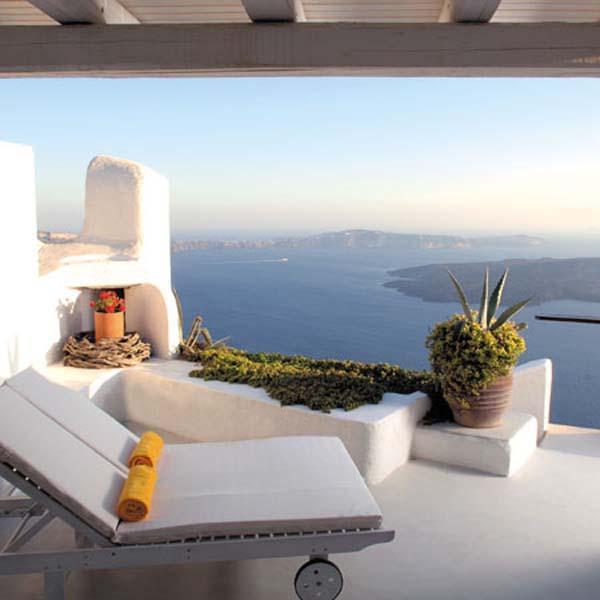 300 meters above the sea on the cliffs edge in peaceful Imerovigli. VMS ILO - Image 1 - Santorini - rentals