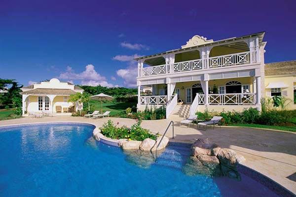 Poolside villa with ocean views. AA CAQ - Image 1 - Barbados - rentals