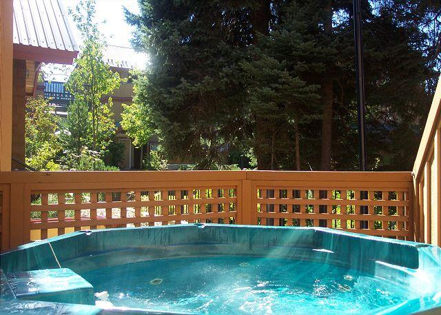 Private Hot Tub - 109 Glaciers Reach, a 2br home with a hot tub & pool in Whistler Village - Whistler - rentals