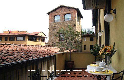 Perfect Big Sunny Terrace-Ponte Vecchio-Comfort-Bardi - Image 1 - Florence - rentals