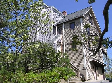 1511 - ENJOY PANORAMIC WATERVIEWS FROM THE UPPER LEVEL OF THIS OAK BLUFFS VACATION HOME - Image 1 - Oak Bluffs - rentals