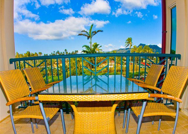 Exterior View from Lanai - FAST internet  ** COCONUT grove VIEW**  GREAT VALUE - Kapaa - rentals