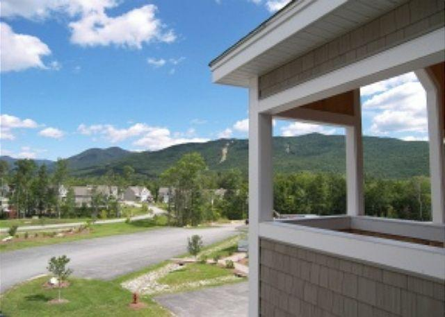 View from Front Entry - Forest Ridge 100-10 - Managed by Loon Reservation Service - Lincoln - rentals