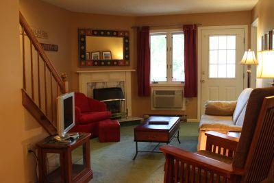 2BR multi-level condo with fireplace - 3C 335C - Image 1 - Lincoln - rentals
