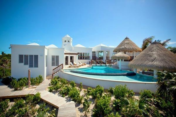Striking architectural masterpiece on 2 landscaped acres of Grace Bay beachfront property. TNC TBZ - Image 1 - Grace Bay - rentals