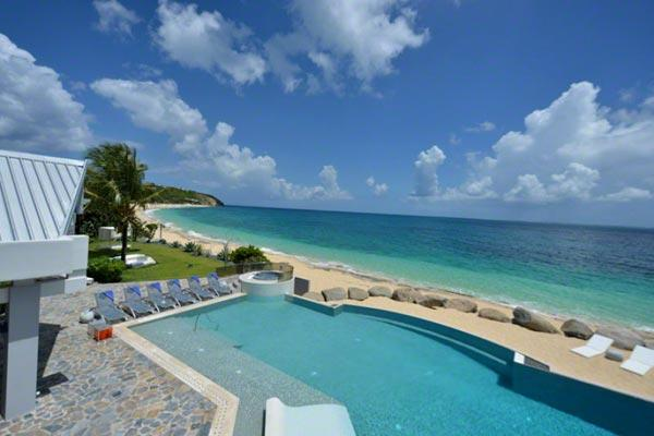 Private beach perfect for entertaining. C GLU - Image 1 - Baie Rouge - rentals