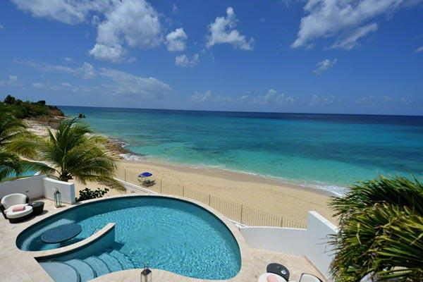 Beachfront, poolside hideaway. C MUM - Image 1 - Cupecoy - rentals