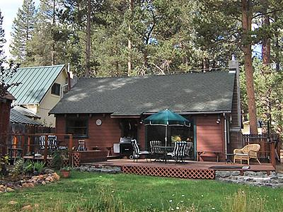 Exterior Back - 1207 Omalley Drive - South Lake Tahoe - rentals