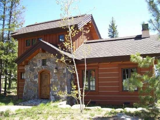 Nicely wooded lot with easy access to Village area  - Rock Creek Cottage 12 - Two Bedroom, 2.5 Bath Cottage. Sleeps 6. - Tamarack Resort - rentals