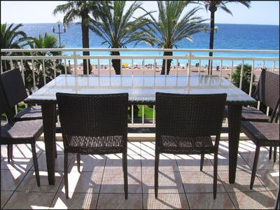 Terrace - Promenade des Anglais, Nice 3 Bedroom with Sea View and Terrace - Nice - rentals