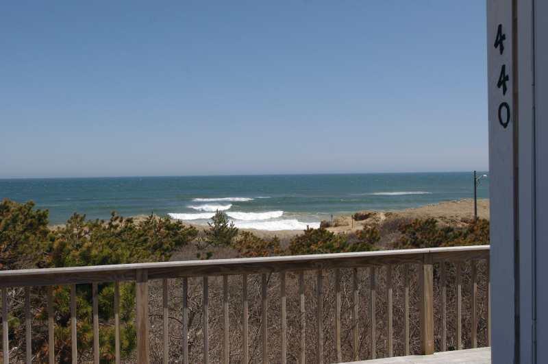 View from cottage - 440NellieRd at Lecount Hollow Beach - Ocean Views - Wellfleet - rentals