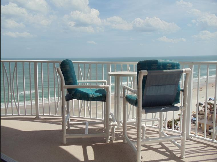 This could be your balcony! - Daytona Beach Oceanfront/Awesome Views & Amenities - Daytona Beach - rentals