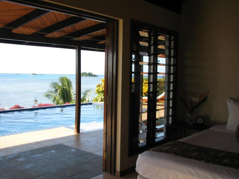 french doors lead directly to your private pool - Vale Sekoula, Taveuni, Fiji - Taveuni Island - rentals