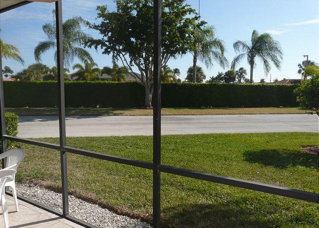 View on Lanai - Mariner, Building 8, Unit 109 - Marco Island - rentals