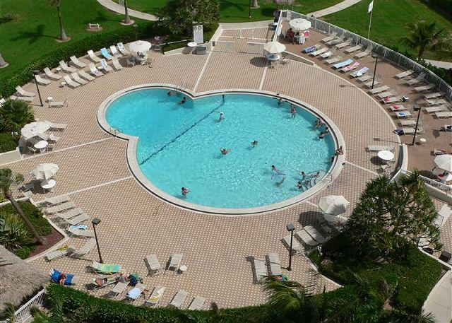 Pool - South Seas Tower 4 Unit 1204 - Marco Island - rentals