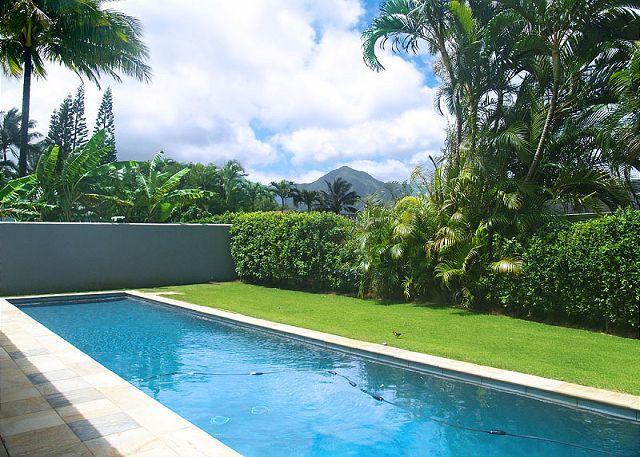 Hale Emmalani: Elegant remodeled 3br/3ba home with private pool, quiet street - Image 1 - Princeville - rentals