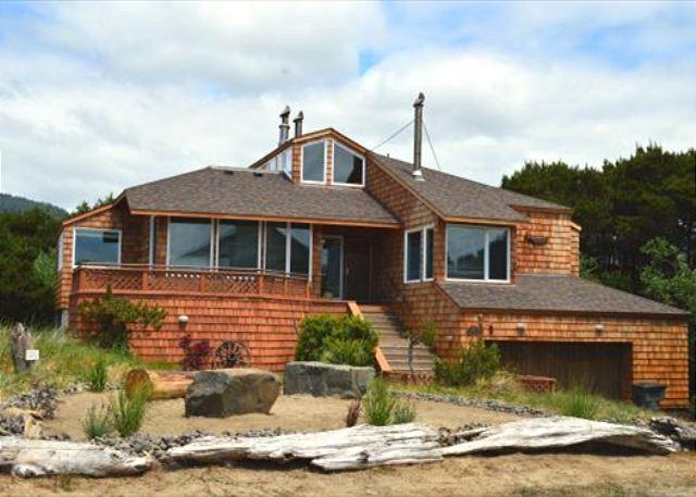 BEACH HOUSE~Incrediable Ocean View Property with Hot Tub  in Manzanita OR - Image 1 - Manzanita - rentals