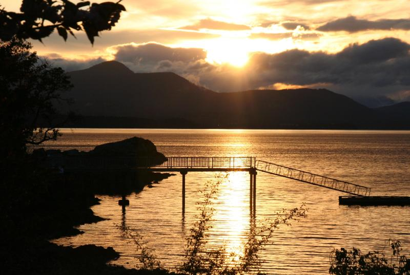 Sunset at Vesuvius Beach - Salt Spring Cottages - Salt Spring Island - rentals
