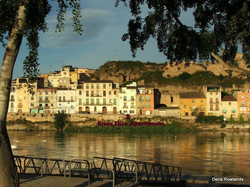 Accommodation right on the banks of the River Ebro - A Delightful Riverside Apartment with Great Views - Costa Dorada - rentals