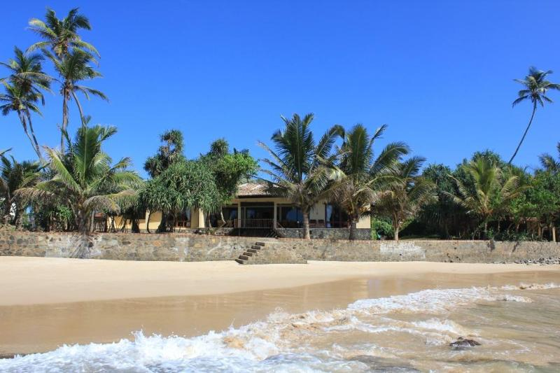 view from the beach - jan 2012 - South Point Villa - Luxury family beach villa - Galle - rentals