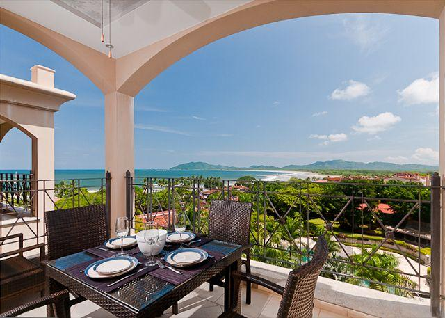 Terrace view - Luxury 2BR condo with great ocean views - Tamarindo - rentals