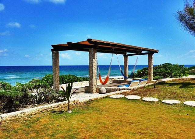 Sea Gate, oceanfront villa located in the heart of Akumal - Image 1 - Akumal - rentals