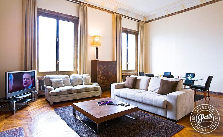 St Germain Concorde - The View... - Image 1 - Paris - rentals