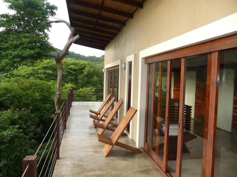 Deck overlooking the surf! - Oleada Beach House Playa Maderas Nicaragua - San Juan del Sur - rentals