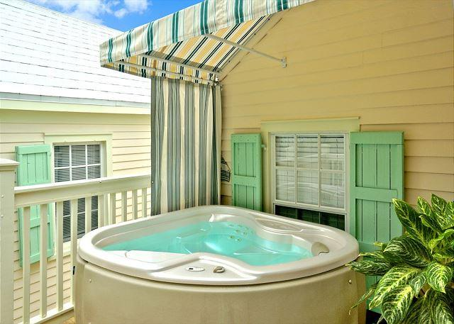 "Hot Tub on Deck - ""OSPREY'S NEST"" - Secluded Old Town Condo w/ Pvt Hot Tub & Balcony. Sleeps 4 - Key West - rentals"