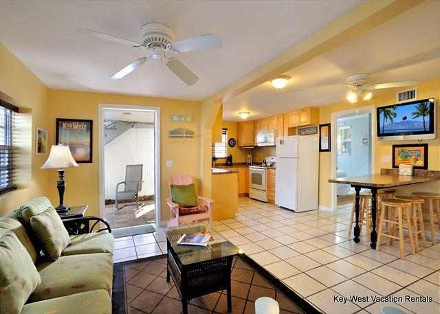 """SOUTHERNMOST RETREAT"" - Big Condo w/ Shared Hot Tub Located On Duval St! - Image 1 - Key West - rentals"