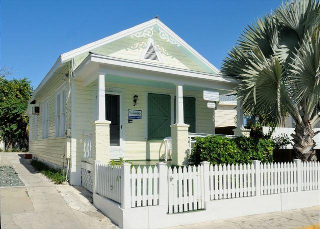 Easy Travel And Safe Passage Through Our Quaint Front Entrance - WINDWARD ISLE - Half Block To Duval St.- Private Hot Tub - Private Parking - Key West - rentals