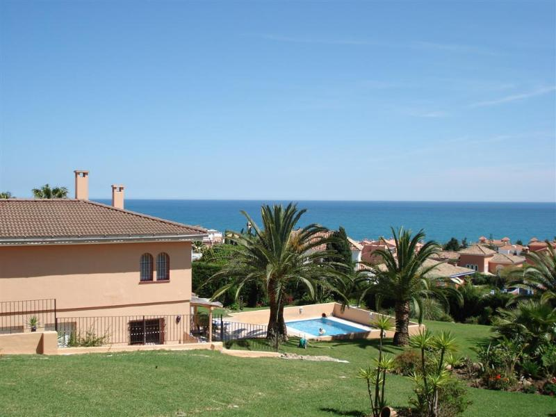 View from the Viewing Area - 1/2/3 bed apts in gorgeous villa,overlooks the sea - Estepona - rentals