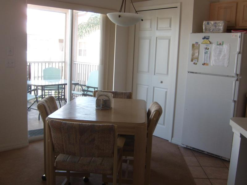 Kitchen table next to balcony - PGA Village 2B/2Ba condo.  Corner unit.  Beautiful - Port Saint Lucie - rentals